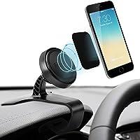IPOW Car Phone Magnetic Dashboard Holder HUD Simulating Design Universal Cradle Mount