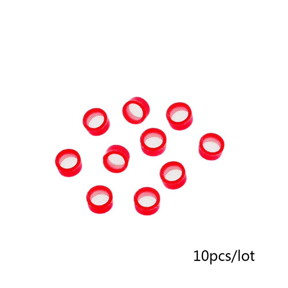 HF4 Wax Filters for Hearing Aids- Hearing aid earwax guards (Red/right side 10pcs)