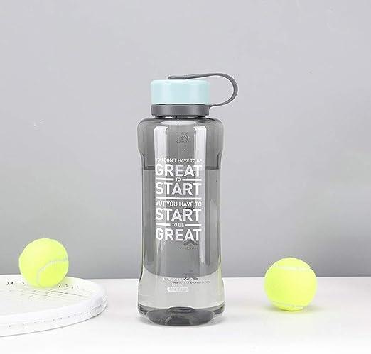 58SD Botella Filtro de Agua |Boca Ancha 50/94 Oz Prueba de Fugas Sin BPA Respetuoso del Medio Ambiente Bebida Botellas de plástico de Agua Mejor for Naturaleza/Running with extraíble Cubierta Splash: Amazon.es: