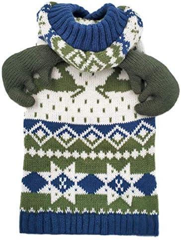 azuza Christmas Reindeer Snowflake Knitwear product image