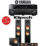 Yamaha AVENTAGE RX-A870BL 7.2-Channel Network A/V Receiver + Klipsch RP-280F + Klipsh RP-440C + Klipsch R-112SW - 3.1-Ch Home Theater Package