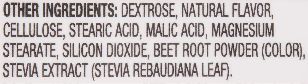 Amazon Brand Revly Vitamin B12, 5000 mcg, Cherry Flavor, 60 Lozenges, 2 Month Supply, Vegan