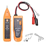TIWWS WH806R RJ11 RJ45 Cable Tester Multifunction Professional Cat5 Cat6 Wire Tracker Check Wire Measuring Instrument without Batteries