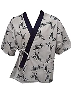Extra Large Sunrise Kitchen Supply All Blue Bamboo Print Sushi Chef Uniform