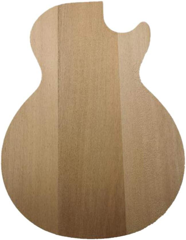 gazechimp DIY Electric Guitar Body For LPSTD Guitar Unfinished Okoume