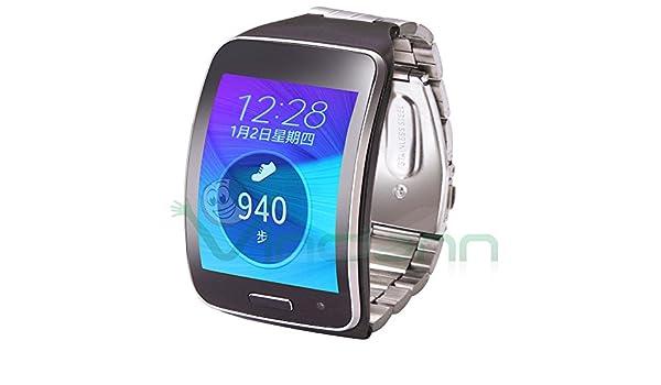 Correa de acero para Samsung Galaxy Gear S R750: Amazon.es ...