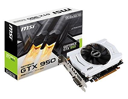 MSI V809-2045R NVIDIA GeForce GTX 950 2GB - Tarjeta gráfica ...