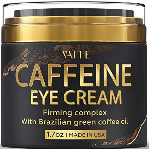 Caffeine Eye Cream - Anti-Aging & Wrinkle Fighting Skin Treatment - Reduces Puffiness & Dark Circle - Eye Lift Cream - Natural Skincare