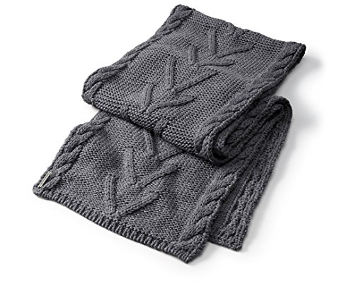 (Smartwool Marquette Scarf (Medium Gray Heather) One Size)