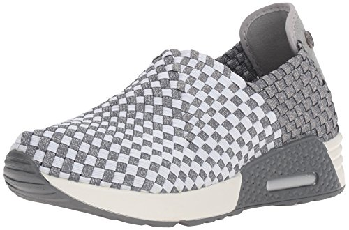 Bernie Mev Womens Best Gem Fashion Sneaker Heather Grey/White da8Vl2Q6kG