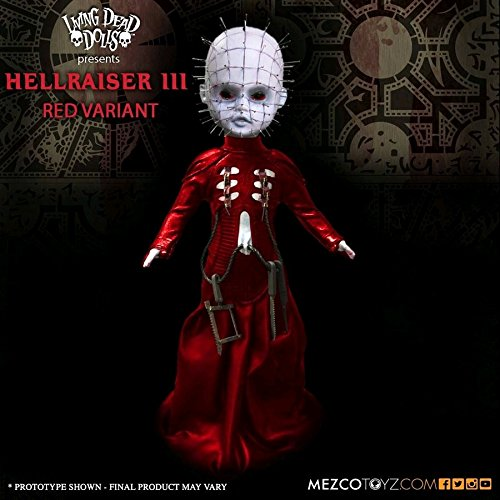 Living Dead Dolls Hellraiser III Pinhead Red Variant Exclusive Limited Edition -