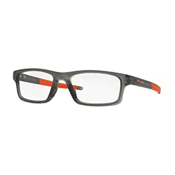 Amazon.com: Oakley Glasses Frames Crosslink Pitch 8037-06 Satin Grey ...