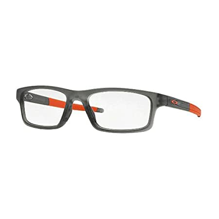 883834c5da Amazon.com  Oakley Glasses Frames Crosslink Pitch 8037-06 Satin Grey Smoke   Health   Personal Care
