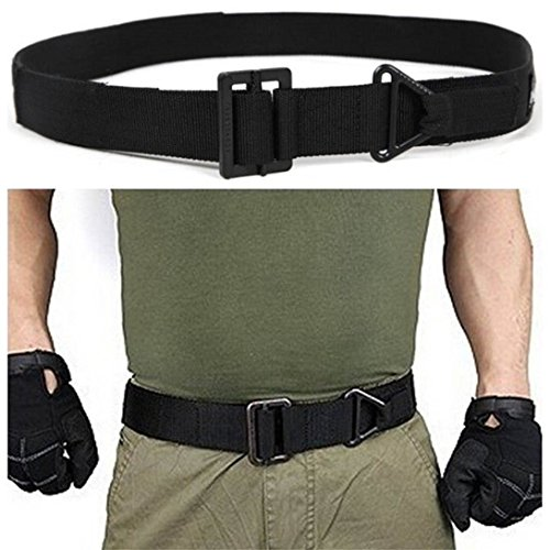 Baynne Adjustable Survival Tactical Belt Emergency Rescue Rigger Militaria CQB