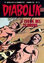 DIABOLIK (155): L'isola del terrore