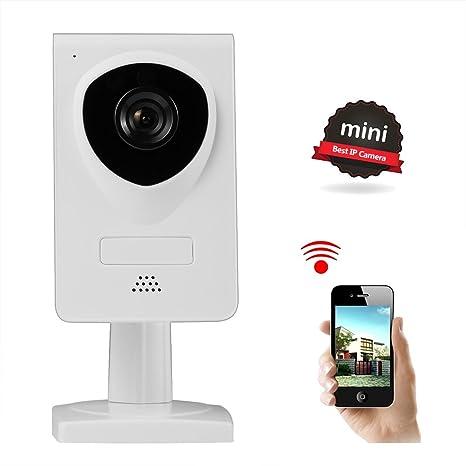 NEXGADGET Cámara IP WiFi de Seguridad Interior Detección Movimiento Visión Nocturna Bebé Mascotas Monitor Audio Bidireccional