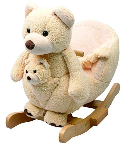 Sugar Bear Rocker with Puppet by Rock My Baby