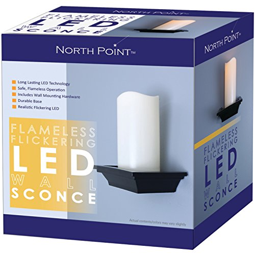 NORTHPOINT-GM8278-Flameless-Flickering-LED-Wall-Sconce