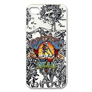 Grateful Dead America Rock Band Image Protective Iphone ipod touch4 / Iphone 5 Case Cover Hard Plastic Case for Iphone ipod touch4