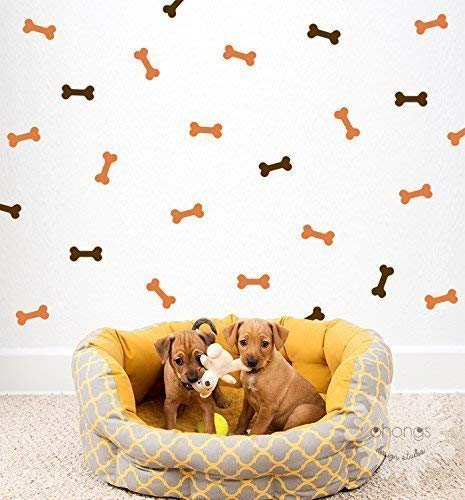 (Dog Bone Wall Decal/Bones Sticker/Doggy Decor/Pattern Wall decal/Home Decor/Doggy Space/gift)