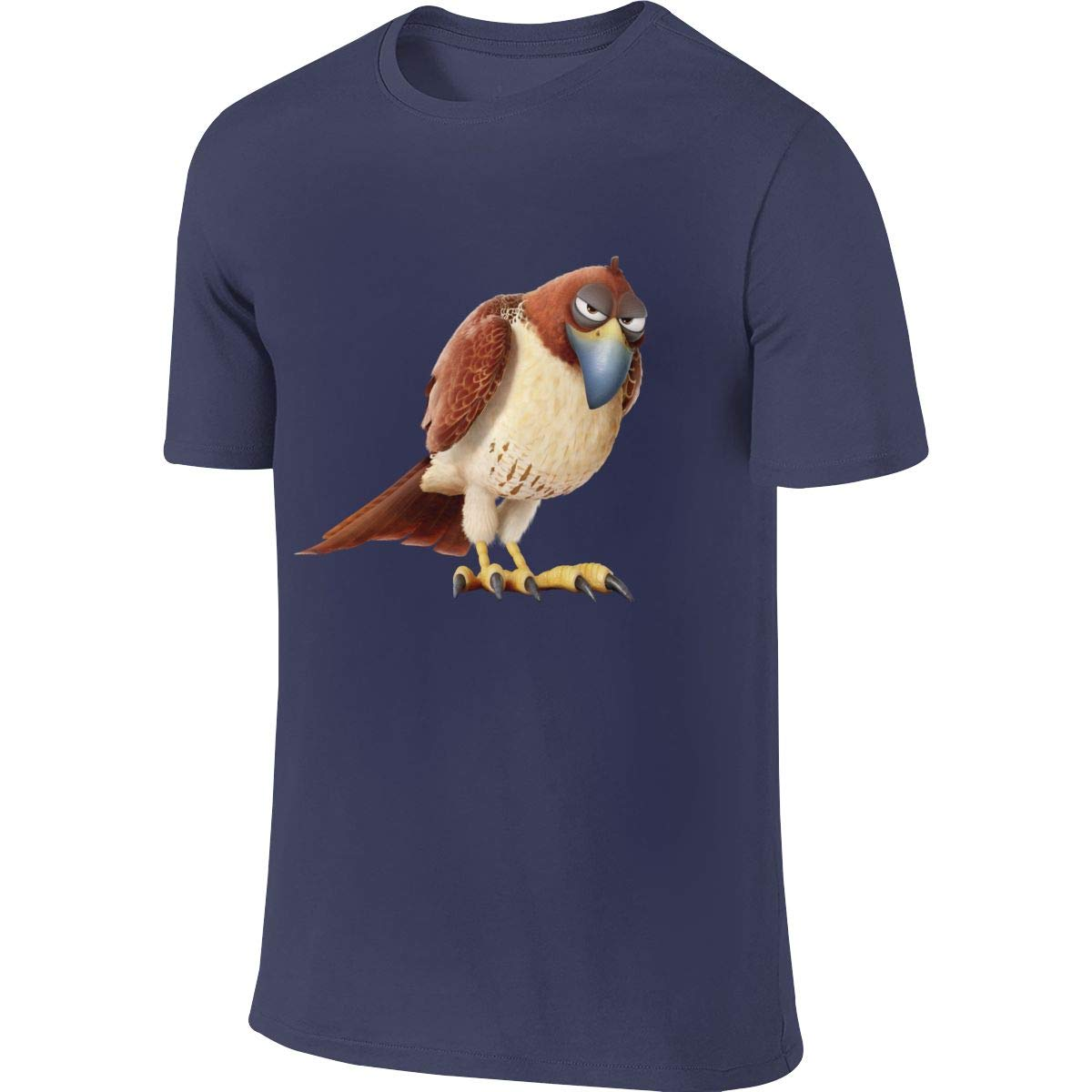 BYSKA Men Designed Breathable Tees The Secret Life of Pets Tiberius T-Shirt