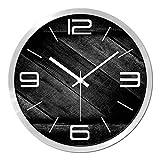 Cheap Wall clock Simple Decoration,Quartz 12 Inch Personality Stylish Modern Quiet Not tick [art]-C 12inch
