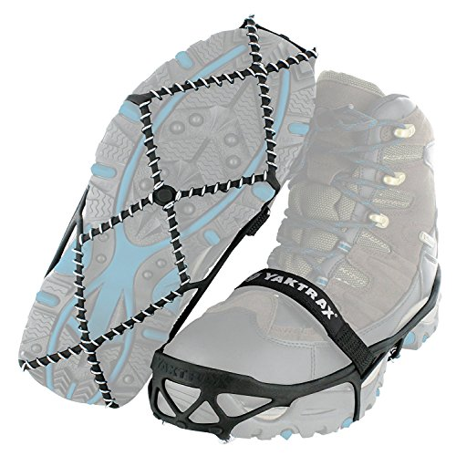 Yaktrax Pro Traction Cleats for Walking, Jogging, or Hiking on Snow and Ice (2 Pack, Small)