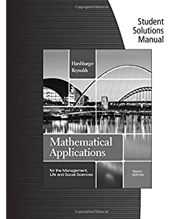 Student solutions manual for harshbargerreynolds mathematical student solutions manual for harshbargerreynolds mathematical applications for the management life fandeluxe Choice Image