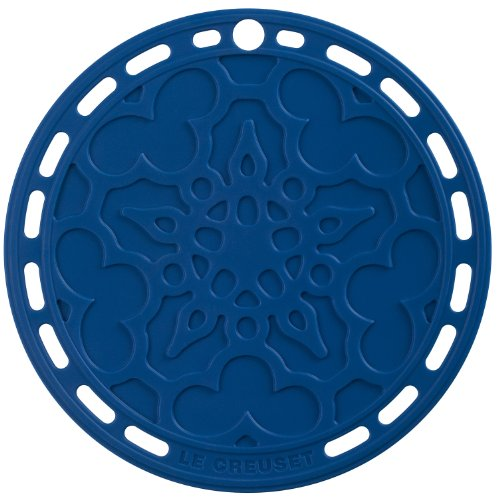 Round Silicone Trivet - Le Creuset Silicone 8-Inch Round French Trivet, Marseille