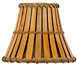 Upgradelights Bamboo Style 5 Inch Chandelier Lamp Shade