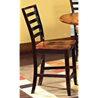 Abaco Counter Height Dining Chair in Multi-Step Acacia [Set of 2]