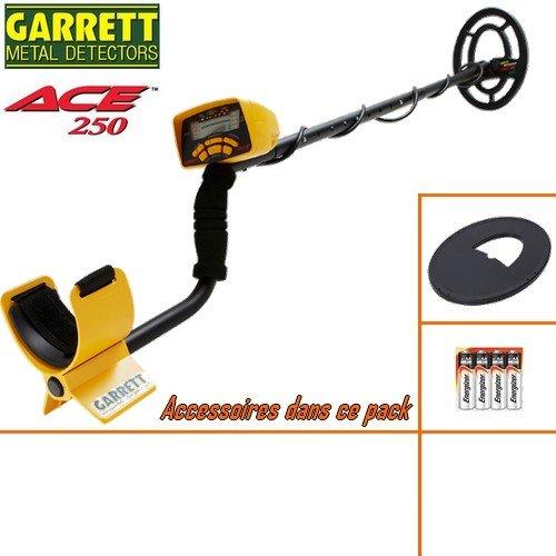 GarrettMetalldetektor, Ace 250, Lieferung mit Schutz
