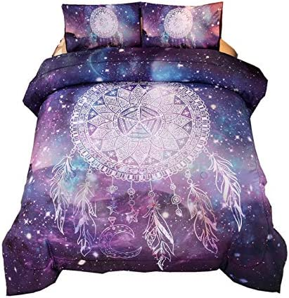 Meeting Story Bohemian Comforter Galaxy Purple product image