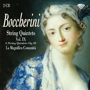 Boccherini: String Quintets Op. 28 Vol. 9