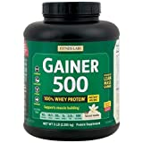 Fitness Labs Gainer 500, Natural Flavors and Sweeteners (Vanilla)