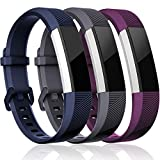 Maledan Replacement Bands Compatible for Fitbit Alta, Alta HR and Fitbit Ace, Classic