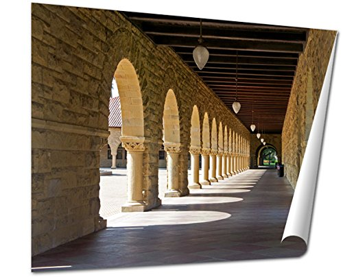 Ashley Giclee Fine Art Print, Stanford University, 16x20, - In Stanford Where Is California