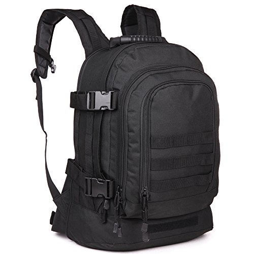 40L Outdoor Expandable Tactical Backpack Military Sport Camping Hiking Trekking Bag