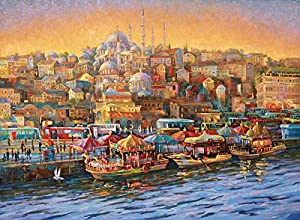 Nova 1000 Parça İstanbul Eminönü Balıkçıları Puzzle - Nikolay Sivenkov