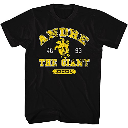 Andre The Giant WWE Hand Adult T-Shirt Tee by 2Bhip