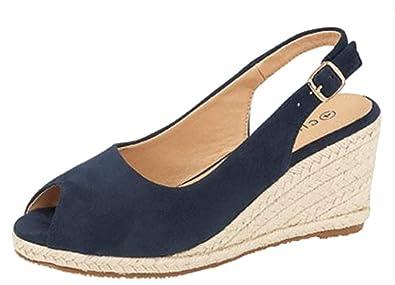 Regina' Ladies Wedge Sandal Cipriata Heel wnk8OP0