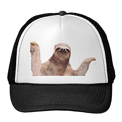 Sloth Trucker Hat - 0782860401349