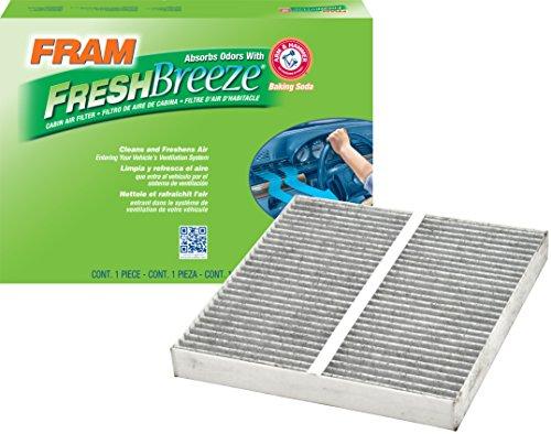 FRAM CF10372 Fresh Breeze Cabin Air Filter with Arm & Hammer