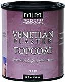 Modern Masters VP300-32 Venetian Plaster Satin Topcoat, 32-Ounce