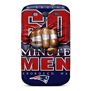 Abrahamcc Design High Quality New England Patriots Cover Case With Excellent Style For Galaxy S3
