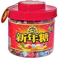 徐福记缤纷什锦新年糖桶550g