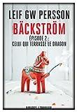 """Afficher """"Bäckström n° 2 Celui qui terrasse le dragon"""""""
