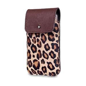 SOX Chic Brown XL- Funda para smartphone, 13,7 x 7,1 x 0,9 cm, diseño pantera, color marrón