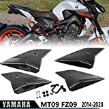 MT09 FZ09 Motorcycle Motorbike Seat Side Panels