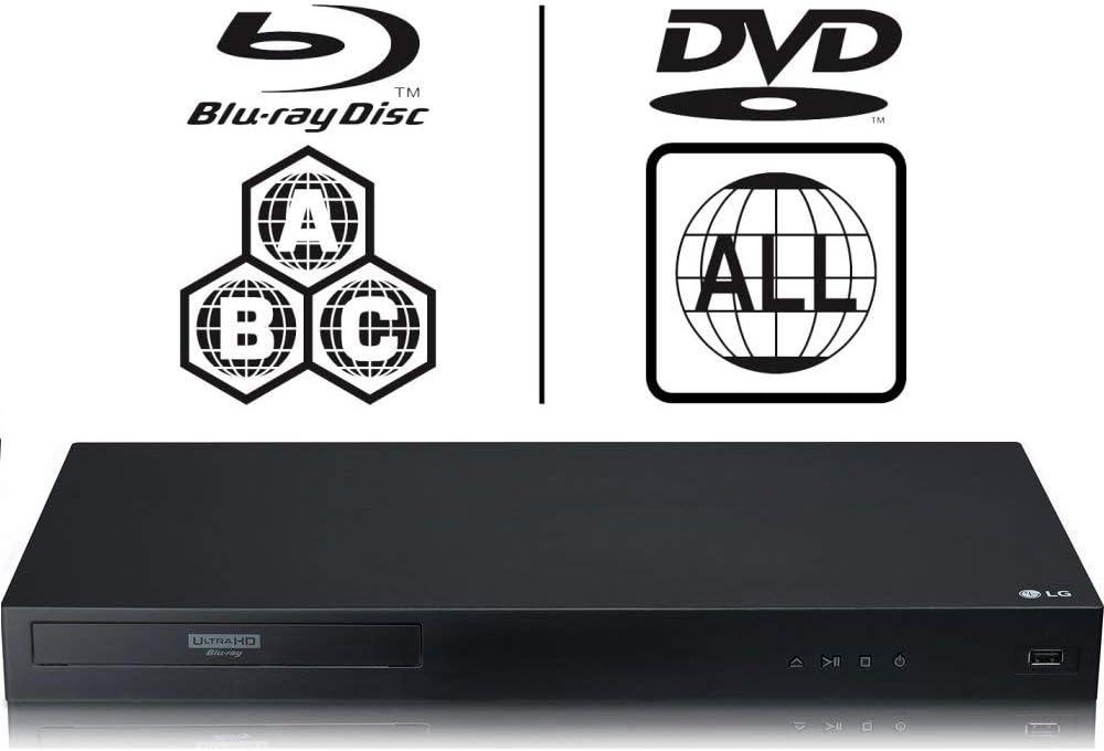 Lg Ubk90 4k Uhd Blu Ray Player Multiregion Blu Ray Amazon De Elektronik